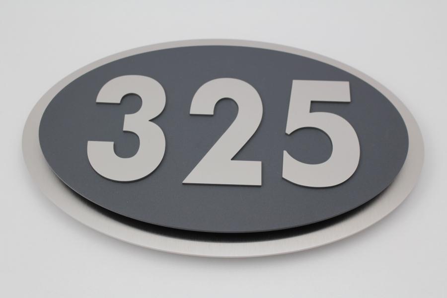 hausnummer aus edelstahl edel im design galaxy max 3 stellig v2a. Black Bedroom Furniture Sets. Home Design Ideas